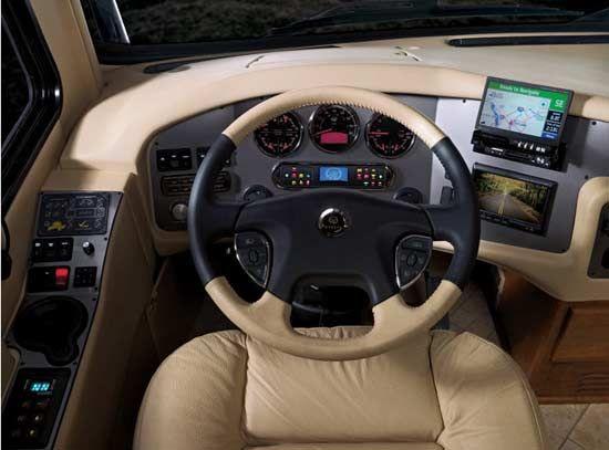 2010 Monaco Dynasty Luxury Motorhome Dashboards