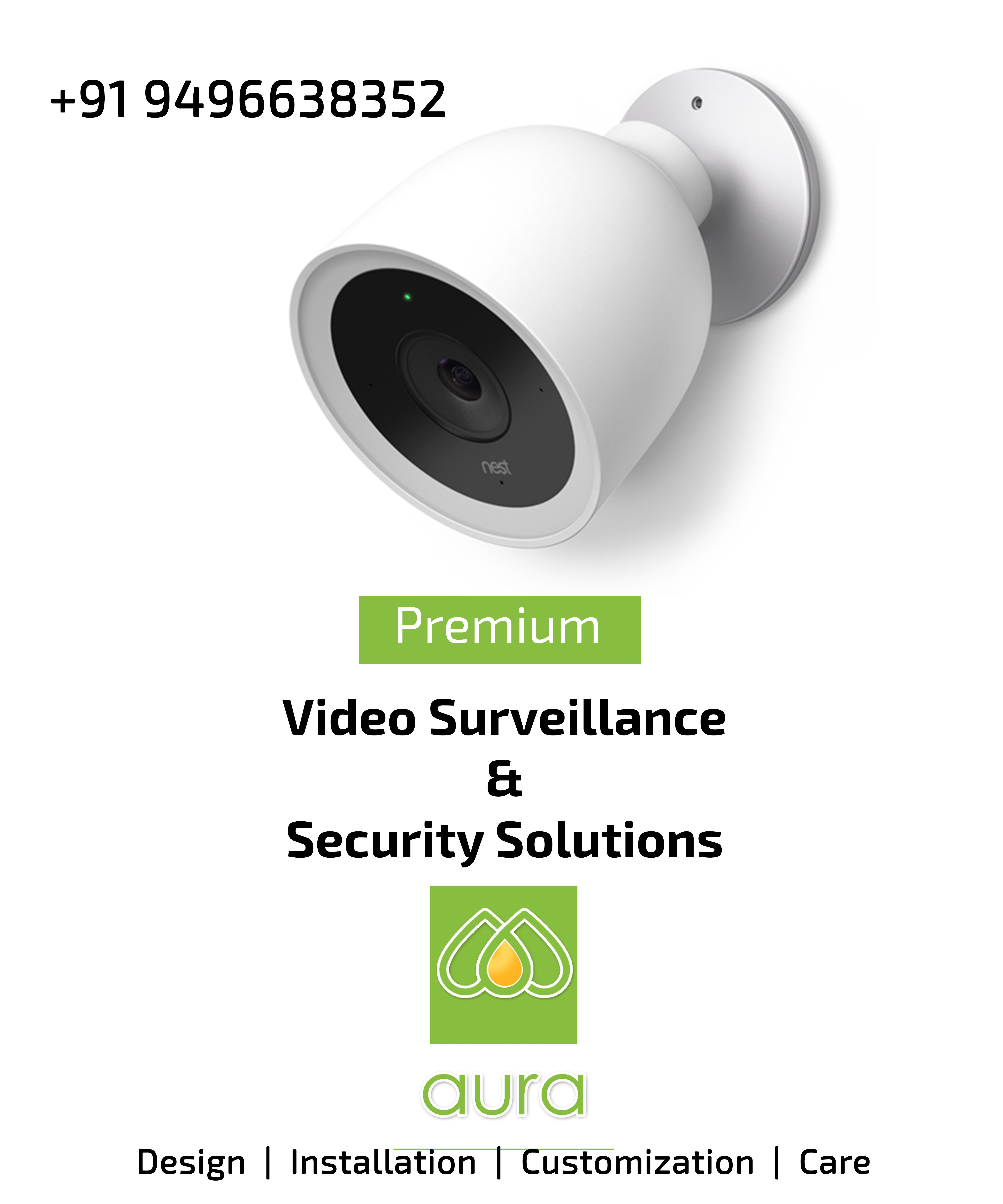 Aura is committed to quality, leading CCTV Camera