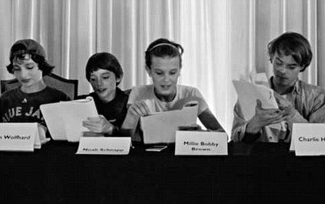 Stranger Things' Millie Bobby Brown at first table read for season 2