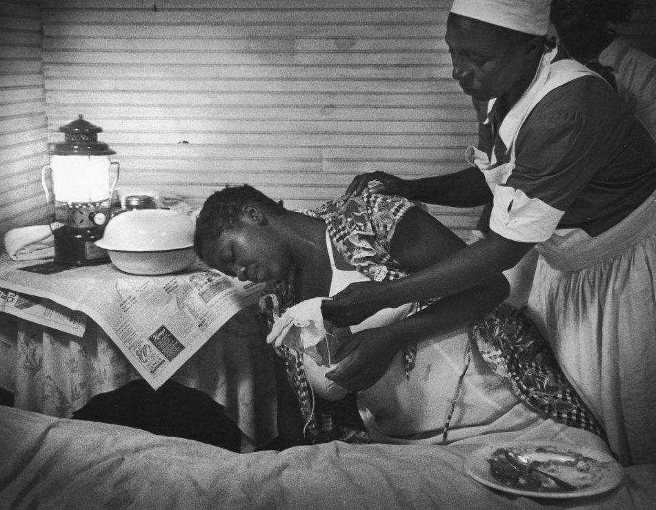 W eugene smiths landmark photo essay nurse midwife