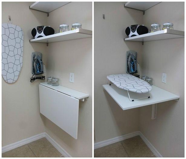 Ikea Ikea Laundry Room Laundry Room Folding Table Wall Mounted Folding Table