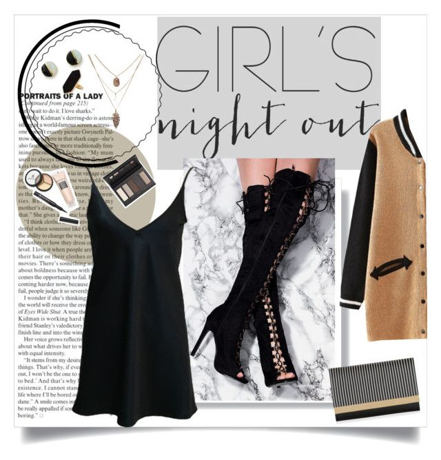 """""""*noche de chicas☀"""" by rebecca-0518 on Polyvore featuring New Look, Erica Weiner, Jaeger, Borghese and girlsnightout"""