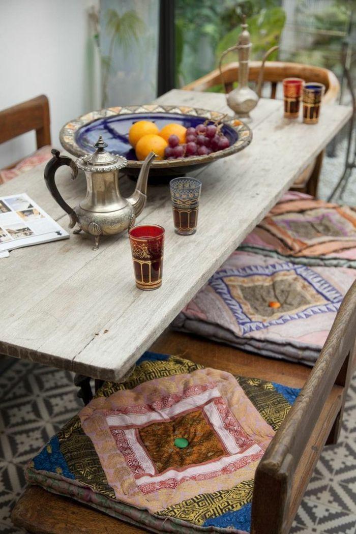 les meilleures galettes de chaises en 53 photos deco maison originales pinterest galette. Black Bedroom Furniture Sets. Home Design Ideas