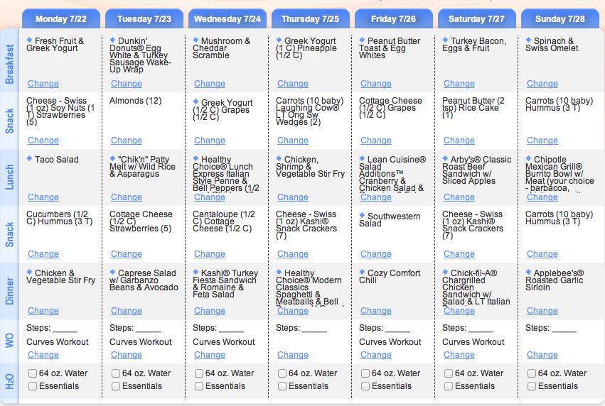 curves 90 day diet plan | salegoods | Pinterest