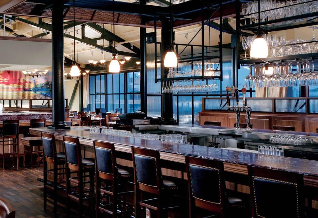 Bar restaurant hospitality interior design of bistro