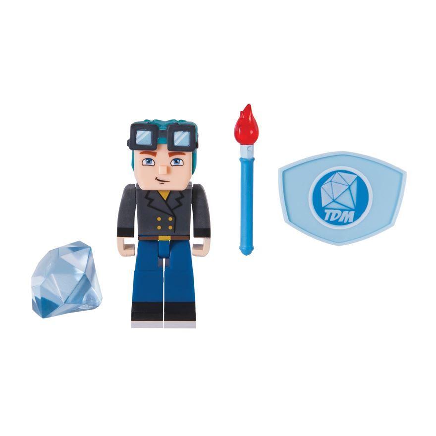 7c3b8559f9 Tube Heroes DanTDM Blue Hair Figure Pack image-0