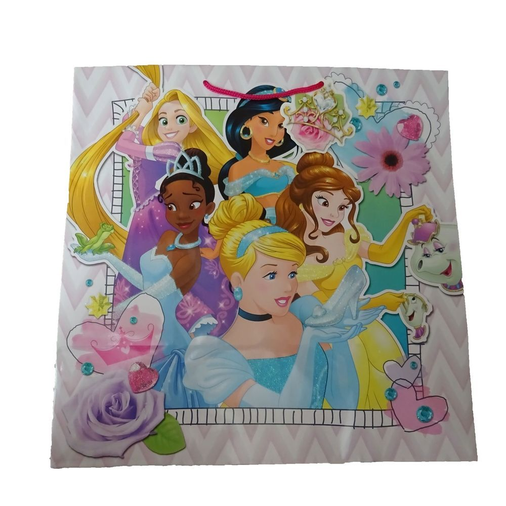 Hallmark Disney Princesses Large Gift Bags 15 Inch Bulk ...
