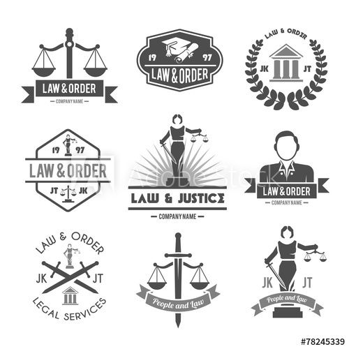 Do Logo For Lawyer Advocate Law Attorney And Consultancy Logomarca