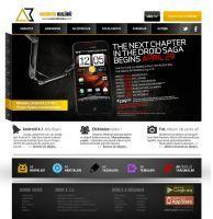 AndroidKulubu (slider) Web Interface by alisarikaya