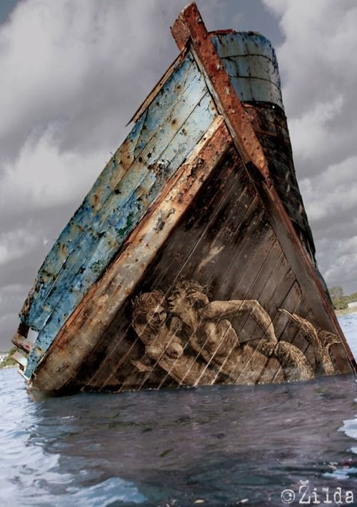 Beautiful shipwrecks: http://www.tumblr.com/likes