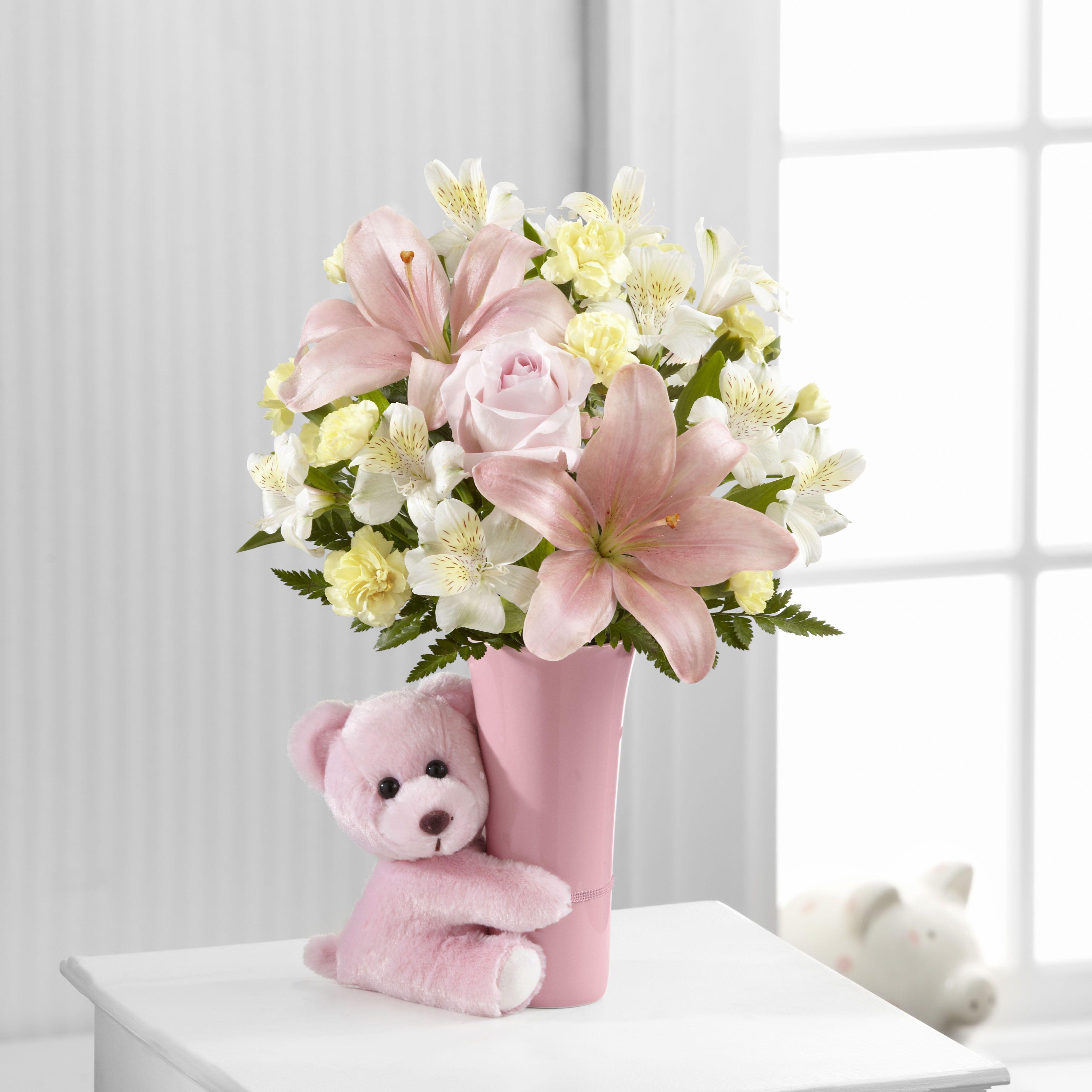 New baby flowers valentine flower