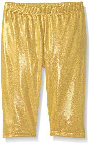 924efb47ceca35 Gia-Mia Dance Girls' Metallic Capri Pant | girl's activewear | Dance ...