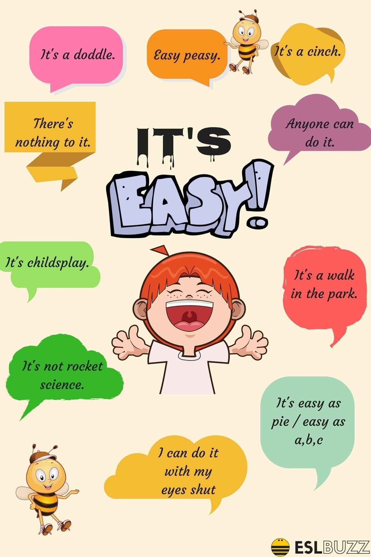 Other Ways To Say Its Easy