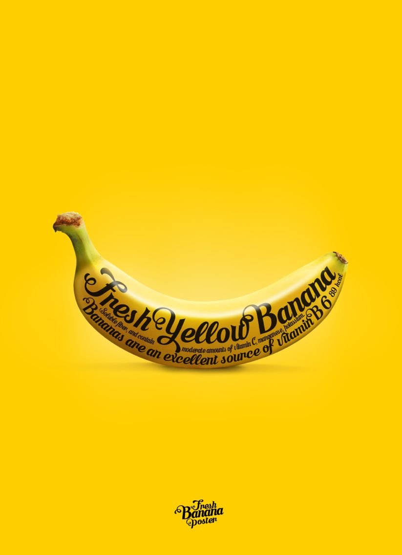 banana poster gone bananas