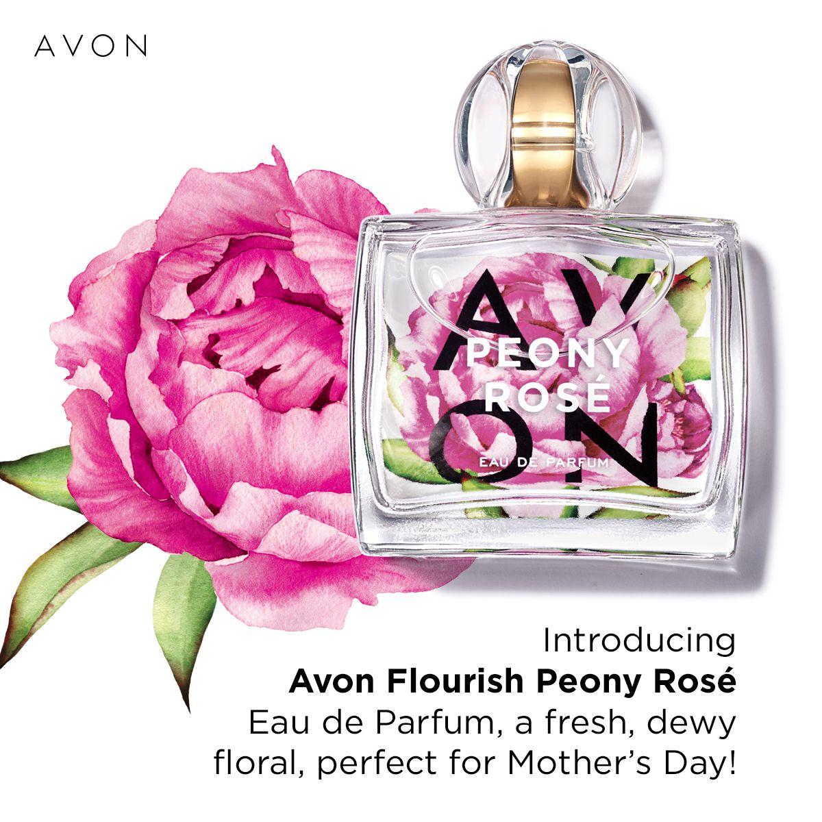 Flourish Peony Rosé Eau de Parfum in 2020 Avon fragrance