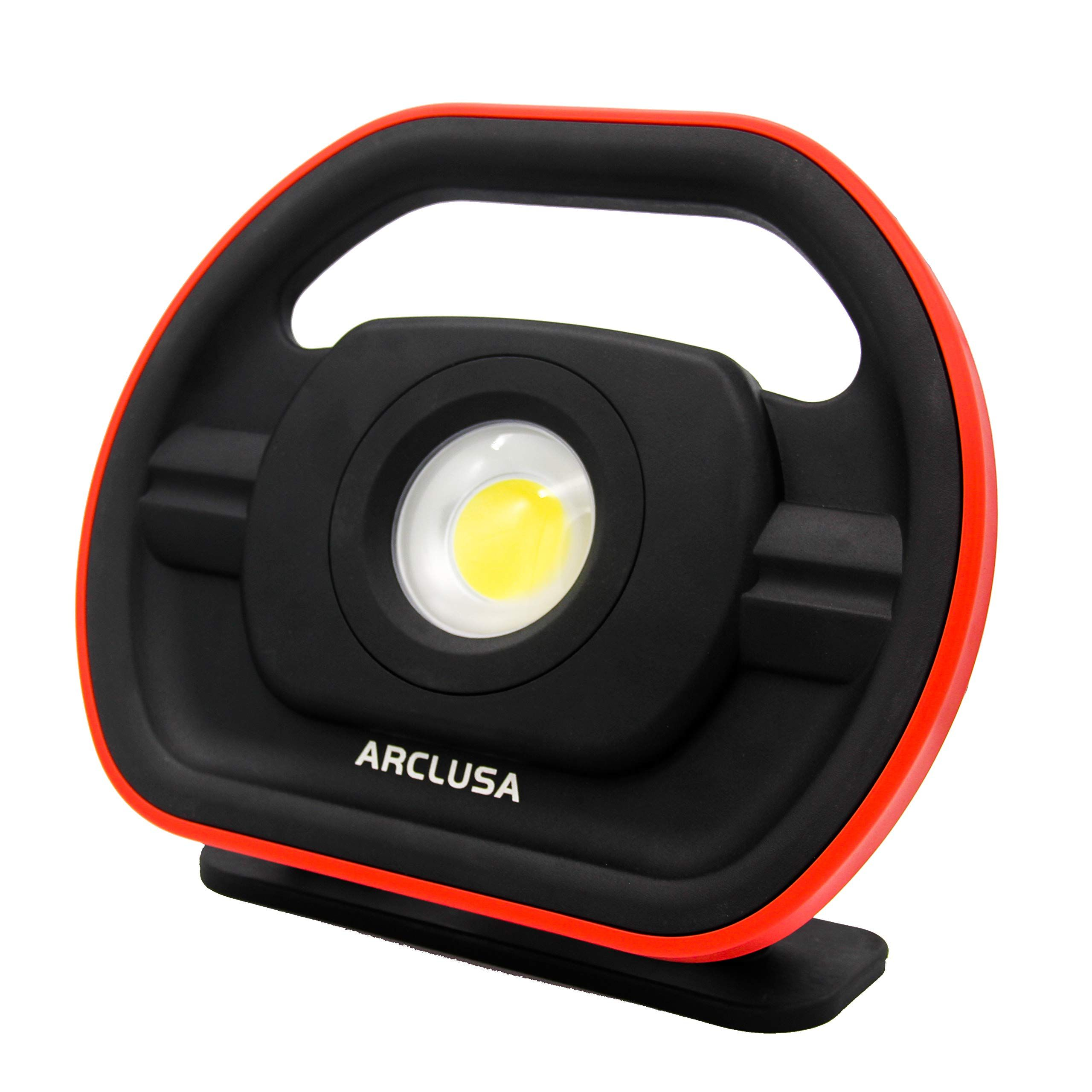 Arclusa Rechargeable Work Light Flood Light W Adjustable Holder And Inspection Lamp 3000 Lumens Extreme Cob L In 2020 Flood Lights Rechargeable Work Light Work Lights