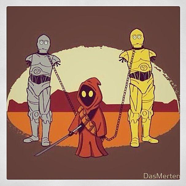 If you're a Star Wars fan and a Walking Dead fan, you'll understand.