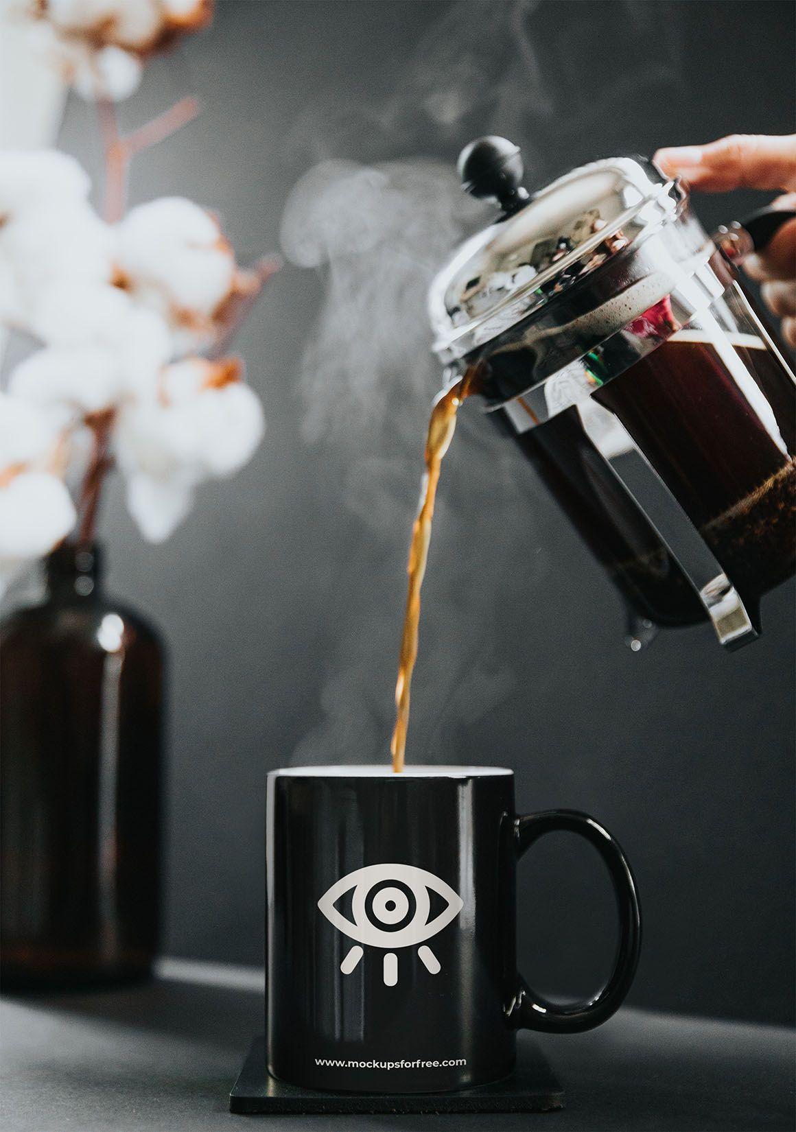 Realistic Coffee Cup Free Mockup Coffee cups, Mockup
