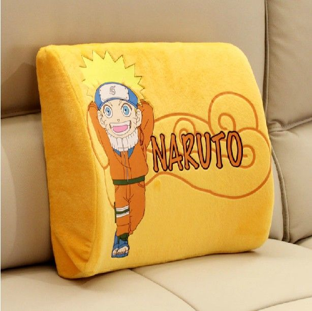Fine Naruto Pillow Lovely Uzumaki Naruto Lumbar Pillow For Sofa Machost Co Dining Chair Design Ideas Machostcouk