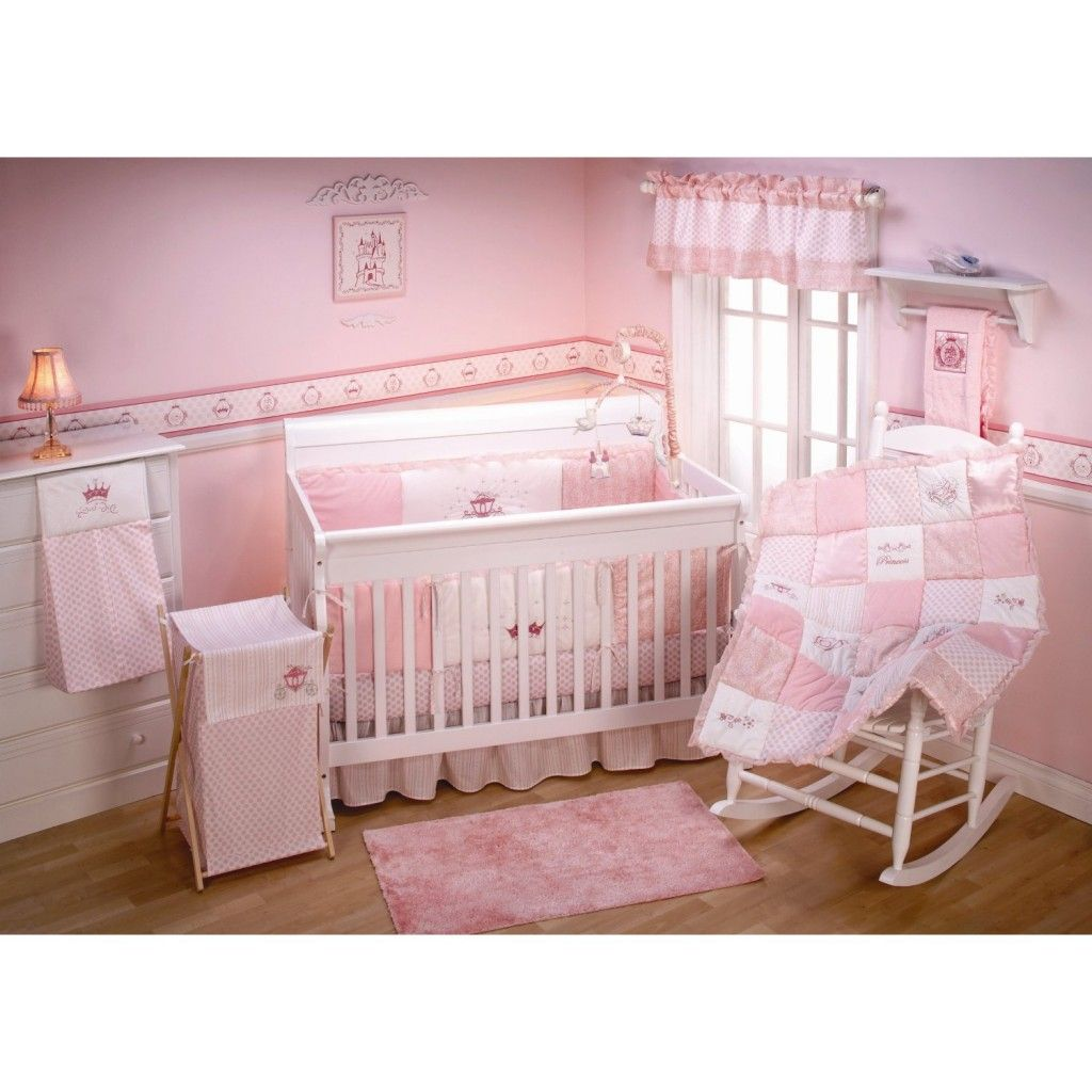 A Little Princess Nursery Design: With Disney Nursery Crib Bedding Theme, You Simply Just