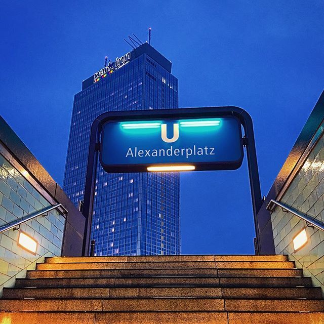 Park Inn Berlin At Alexanderplatz Is An Iconic Building In Berlin Thank You Ig Michael From Berlin For The Beautiful Iconic Buildings Berlin Berlin Germany