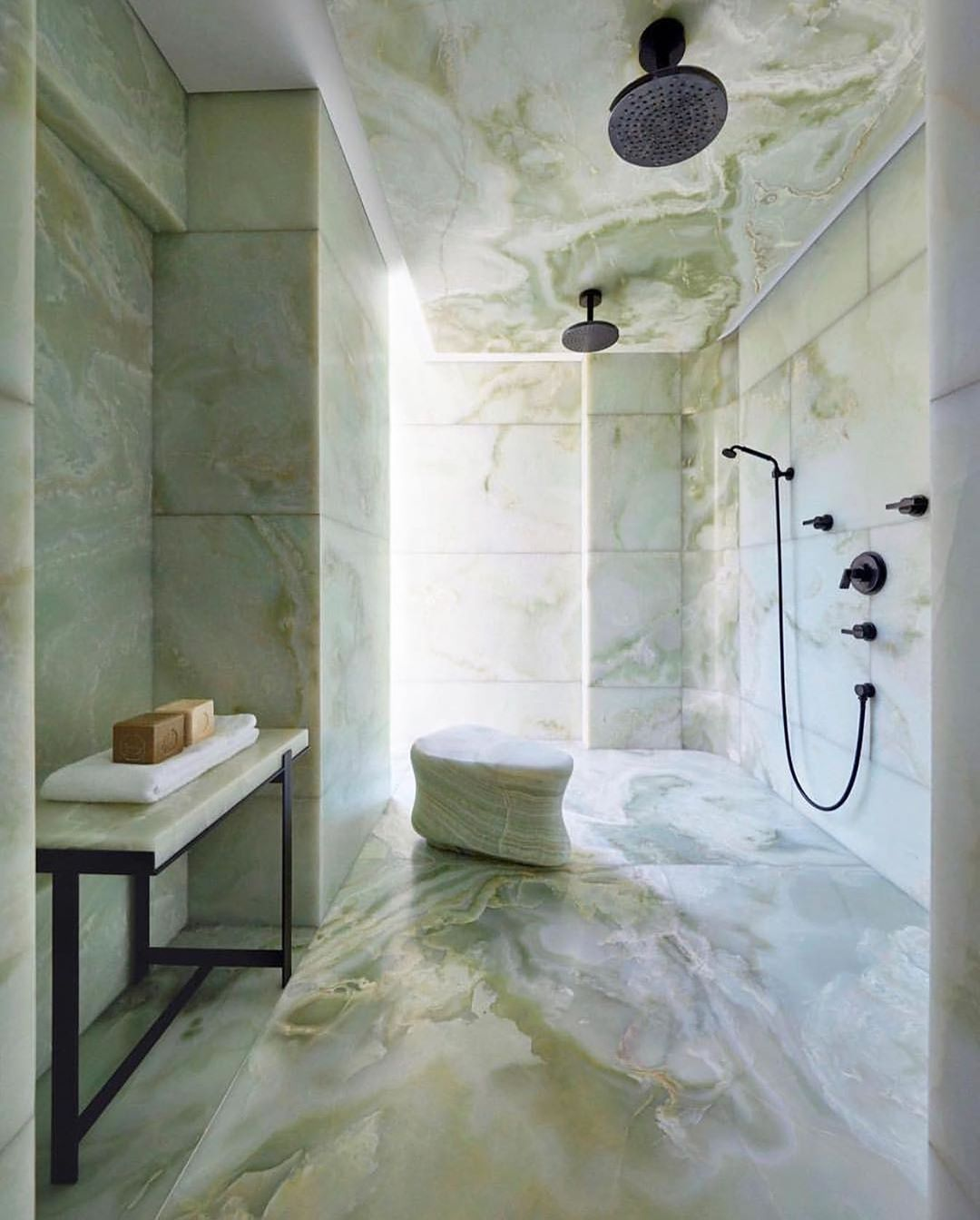 Green Onyx Bathroom Of Our Dreams Regram Sophiaroe Via
