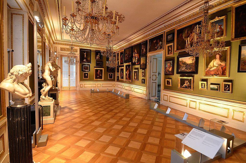 Galeria Obrazów Pałac Na Wyspie W łazienkach łazienki