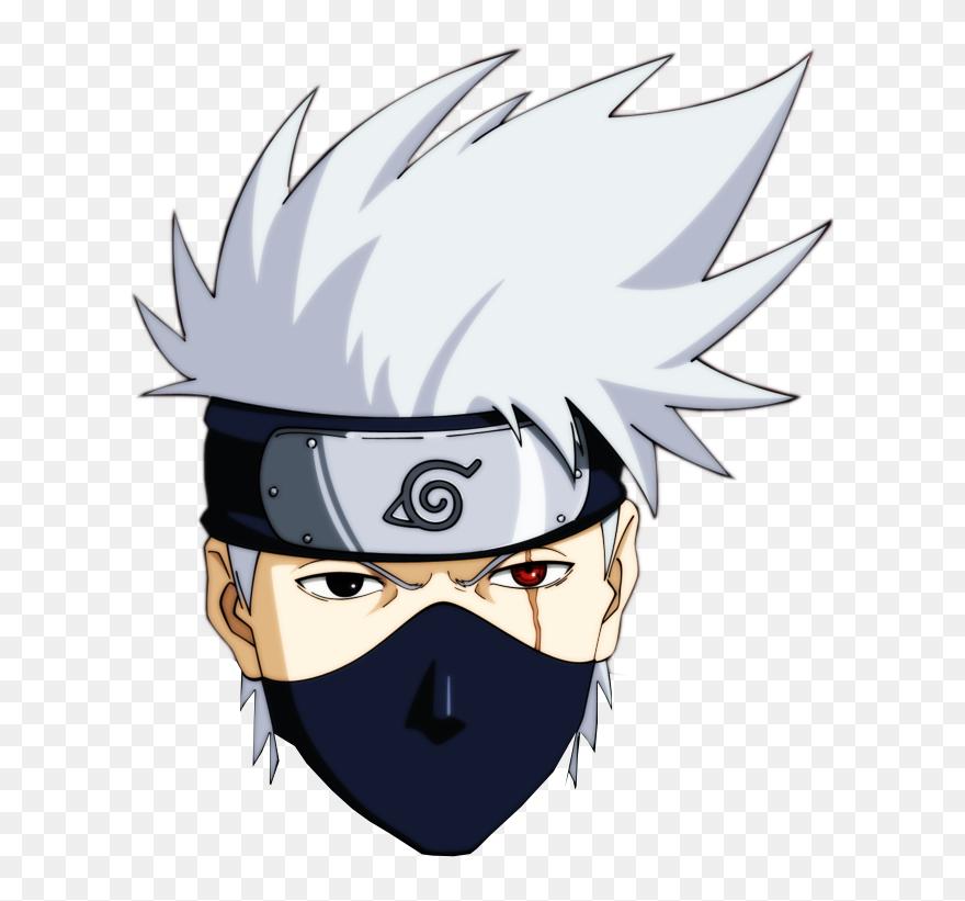 Naruto Head Png Kakashi Png Clipart Desain