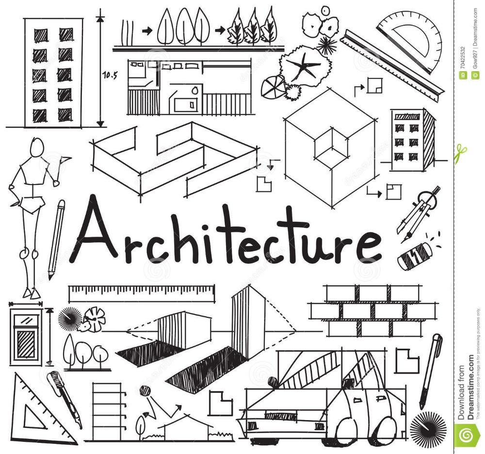 Architecture And Architect Design Building Exterior Doodle Architecture Wallpaper Architecture Symbols Architecture Memes
