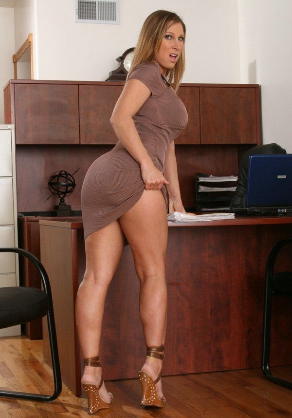Sexy MILF jolies cuisses
