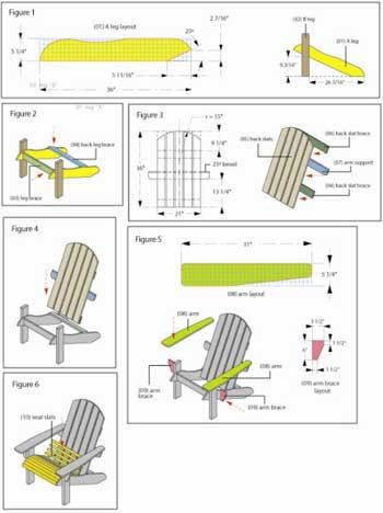 Lowes Adirondack Chair Plan Shop Series  Woodworking