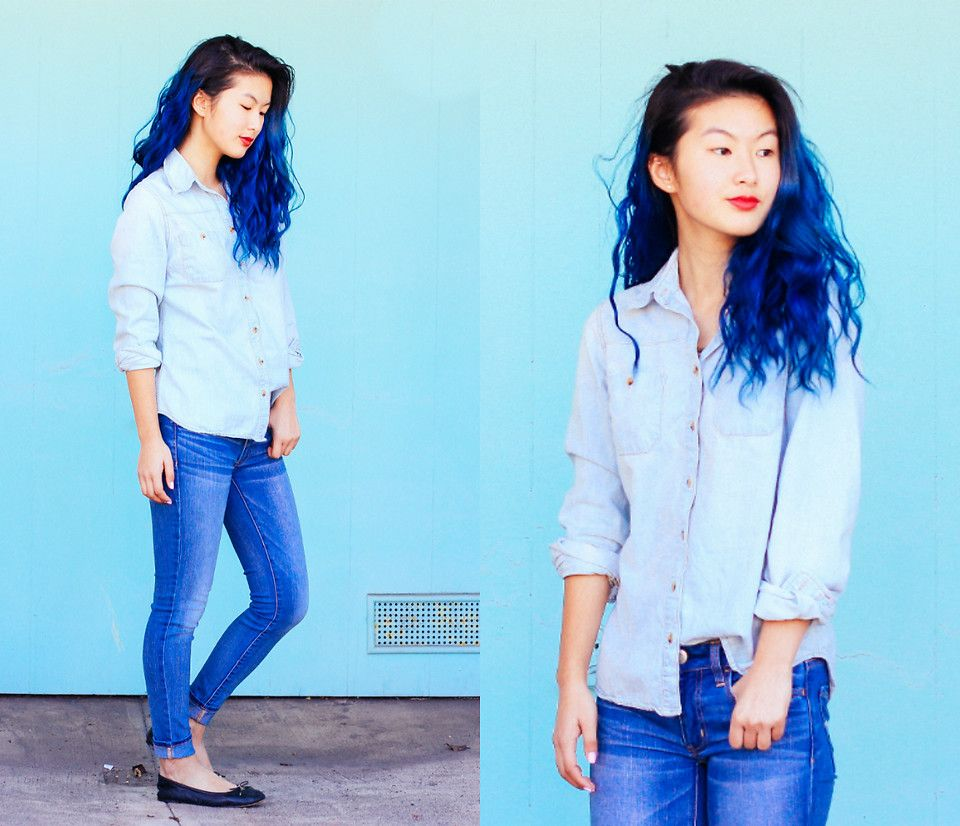 Angelina - all blue