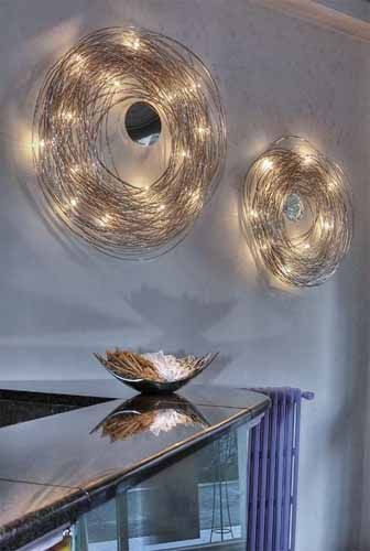 Cool modern wall lamp Confusione Lamp by Knickerbocker Interior