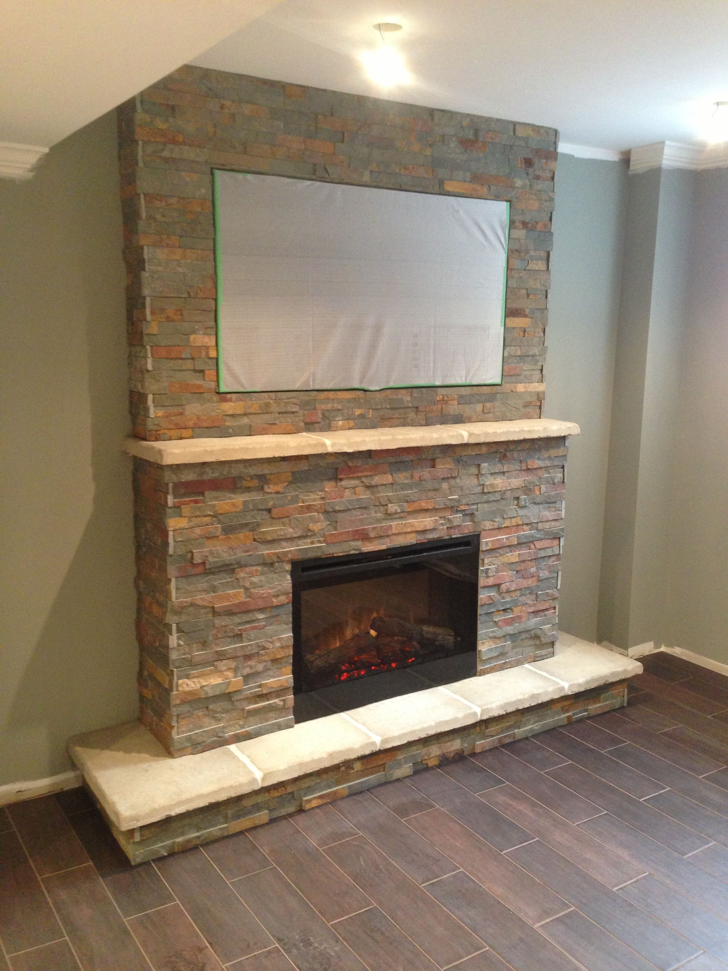 mantel install book an fireplace image how a electric to of design talking with