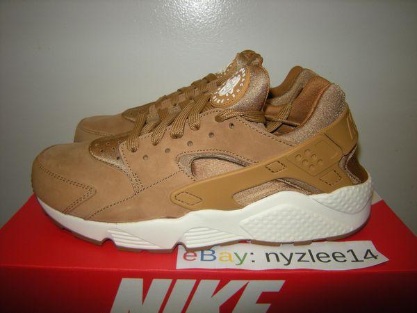 Nike Air Huarache Flax Sail Gum Brown Men's 12 New for Sale in ...