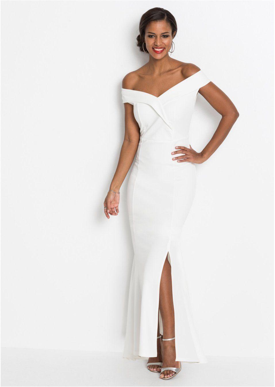 Abend-Carmen-Kleid  Abendkleid, Kleider mode, Kleid trompetenärmel