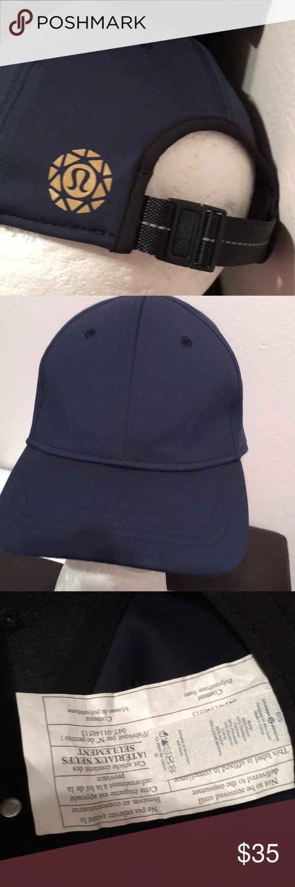 Lululemon cap 🧢 Like new condition unisex navy blue almost black 🧢  lululemon athletica Accessories Hats 1004496f2ff