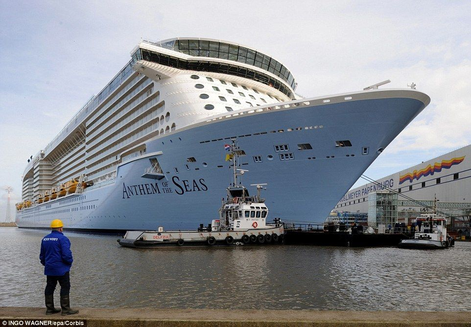 Royal Caribbean Cruise Endures Night Of Nauseating Mph Winter - Rocking cruise ship
