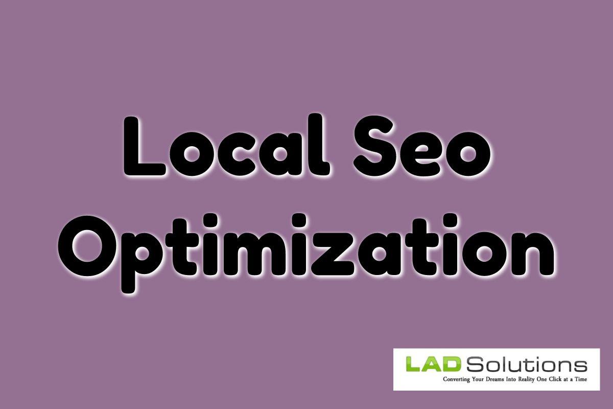 Local Seo Optimization Local Seo