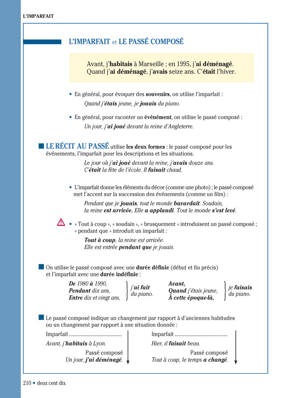 Grammaire progressive du français niveau intermédiaire - 3e éd.   Grammaire française, Apprendre ...