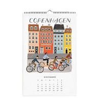 c2d1e571f9e5 Rifle Paper World Traveler Wall Calendar 2019 Travel the world with the  flip of a page. Our World Traveler calendar highlights different forms of  ...