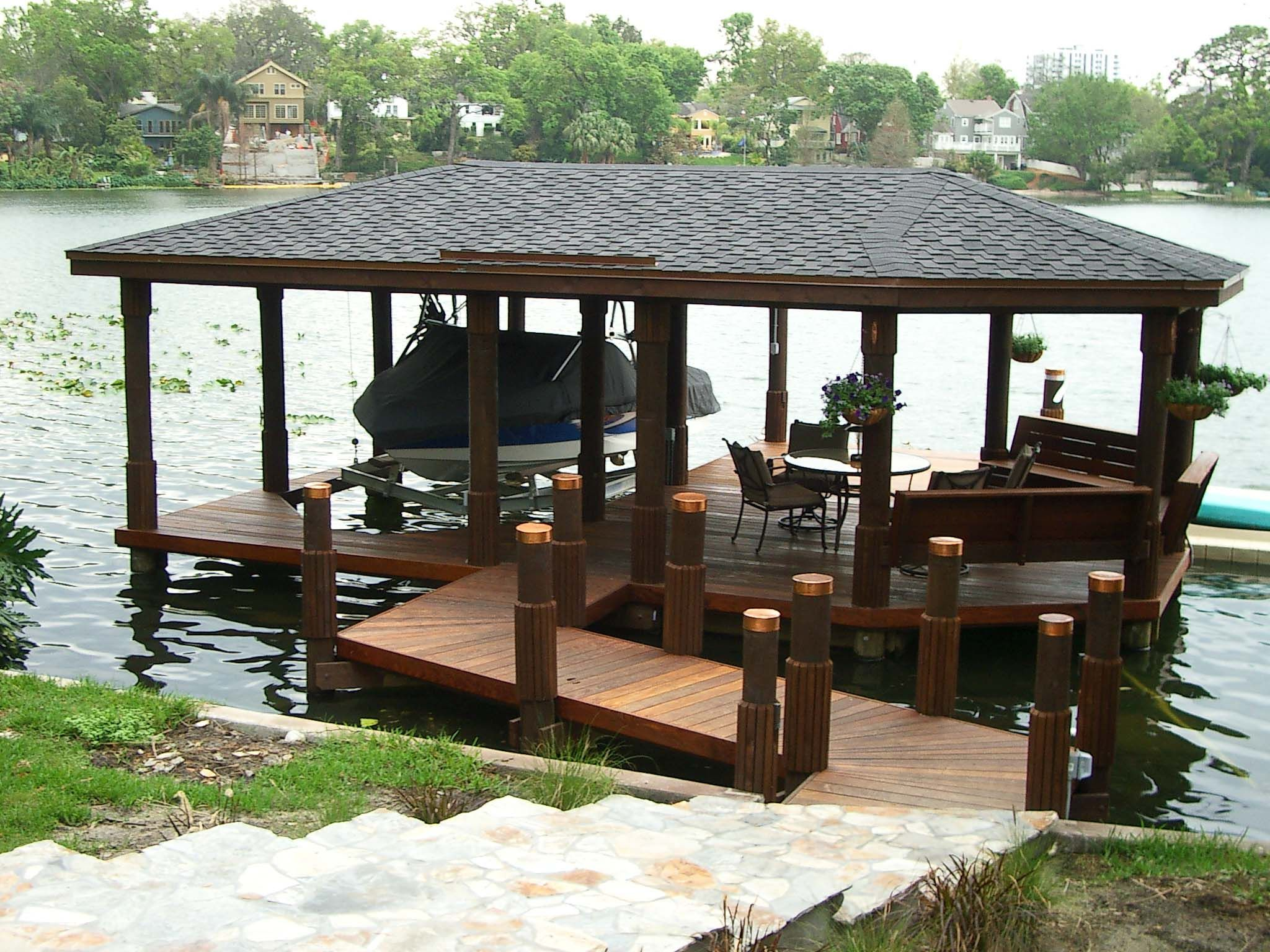 lake dock boat dock brazilian hardwood dock ideas lake homes small