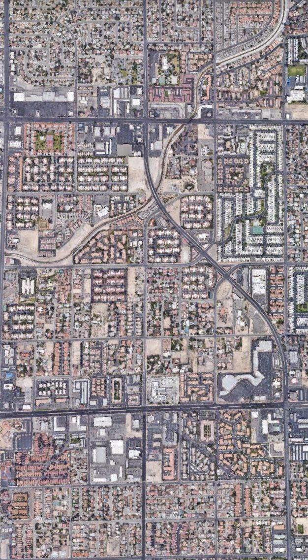 Las VegasNevadaUSA Satelital From the sky Las