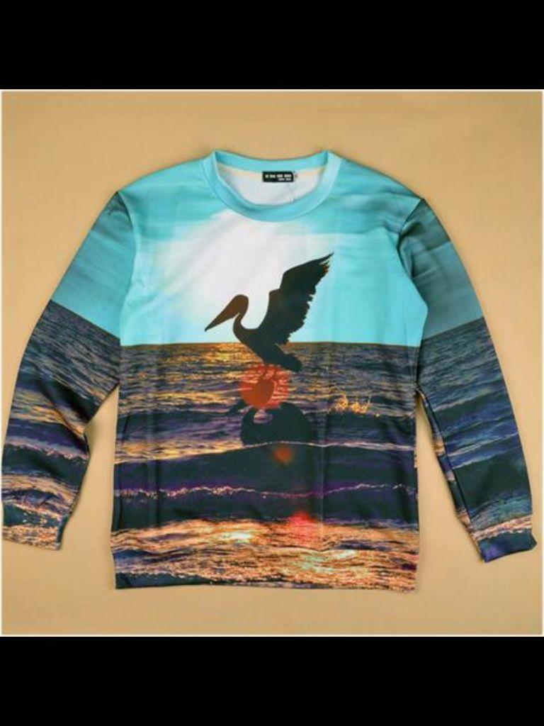Beautiful beach sweater