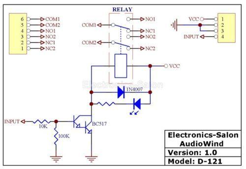 DPDT Signal Relay Module, 24Vdc, TAKAMISAWA RY24WK Relay