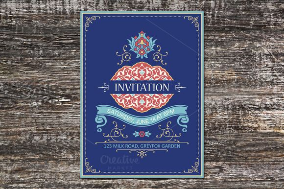 Invitation Template by Azat1976 on @creativework247