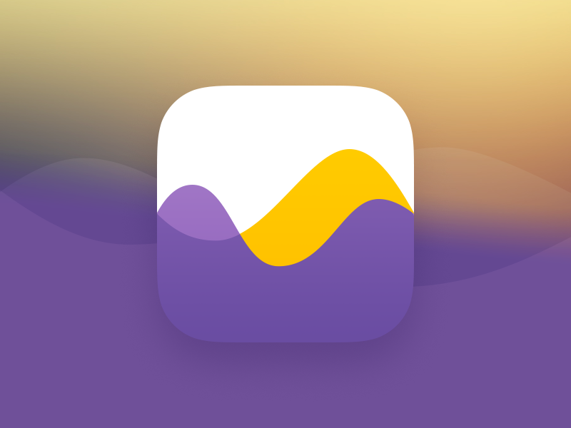 Audiobook player app icon App icon design, Icon design