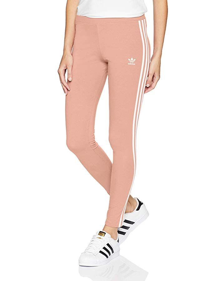 adidas Originals Women's 3 Stripes Legging #stripedleggings