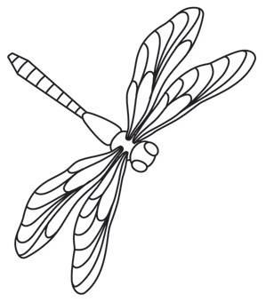 dragonflies urban threads unique and awesome embroidery designs pinterest. Black Bedroom Furniture Sets. Home Design Ideas
