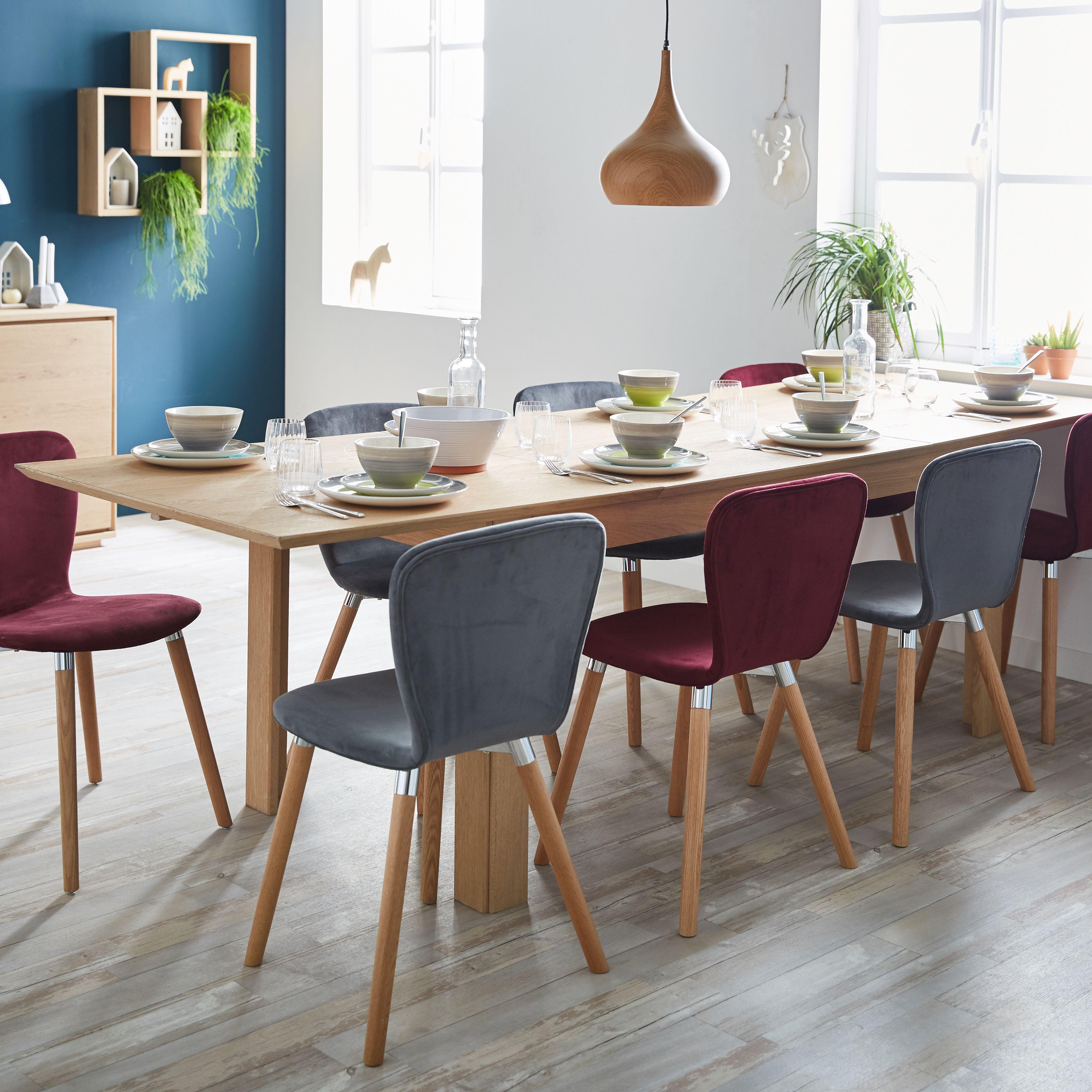 daphne chaise design scandinave bleu